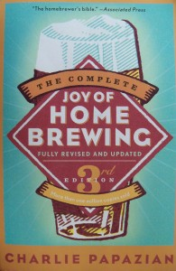Couverture de «Joy of home brewing».
