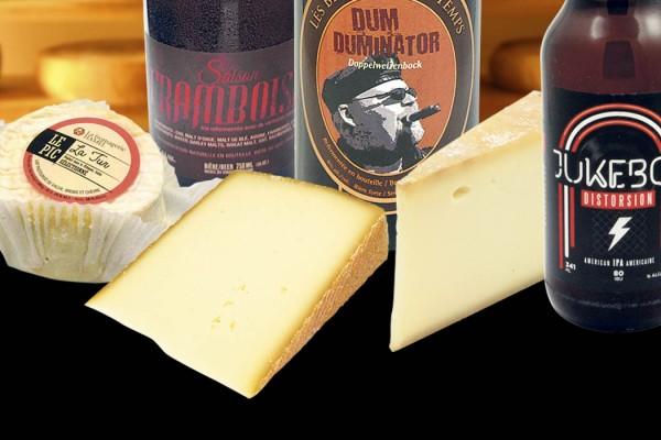 Bières et fromages
