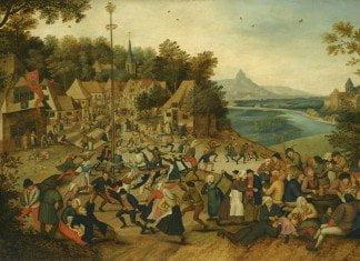 Kermesse od Sint-Joris met de dans rond de meiboom