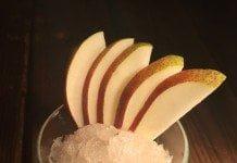 Granité gingembre et poire