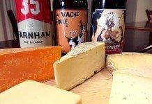Fromage et bière Ambrée amère