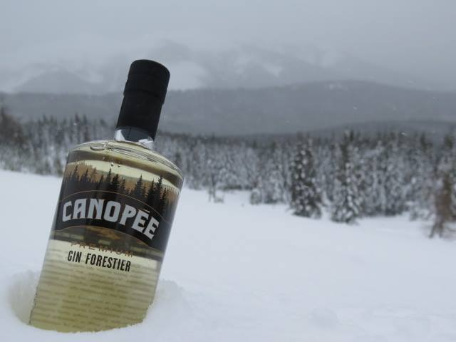 Gin Canopee Bieres Et Plaisirs Quebec