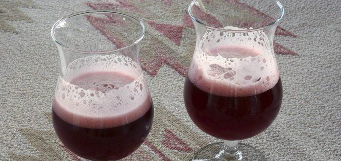 Bière aux fruits