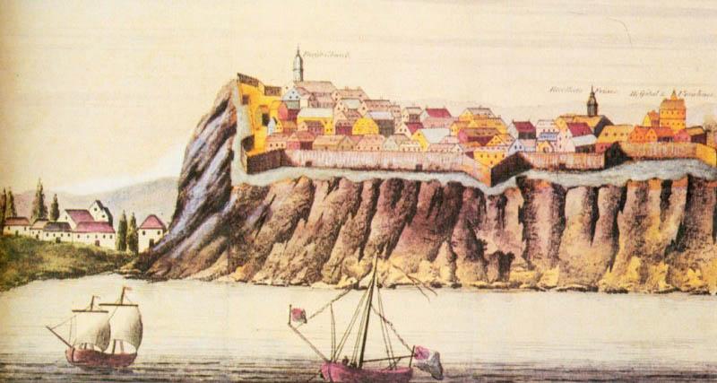 Illustration ancienne de la brasserie Hart de Trois-Rivières