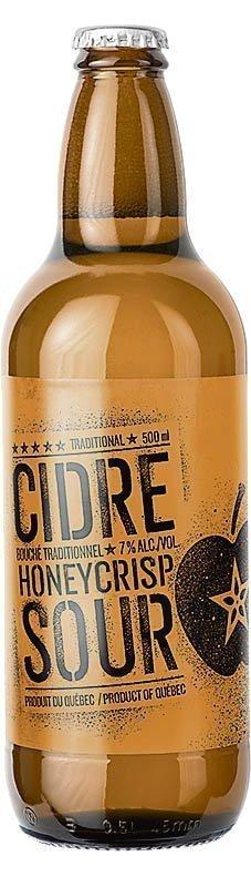 Cidrerie Milton Honeycrisp Sour, 7%