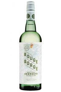 Une bouteille du Domaine Lafrance Rouge Gorge Vermouth Blanc, 17 %