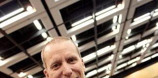 Daniel Giguère rencontré au dernier congrès de l'AMBQ, le 21 novembre.
