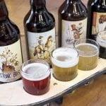 Quatre bières dégustées à La Souche