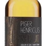 Une bouteille de Piger Henricus Réduit avec ses reflets dorés