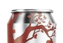 Une canette de Domaine de Lavoie Authentique projet Cidre & hop, 5,5%
