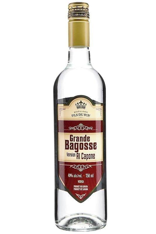 Une bouteille de Distillerie Fils du Roy Grande Bagosse version Al Capone, 40%