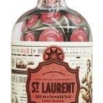 Une bouteille de Distillerie du St. Laurent Moonshine St. Laurent, 47%