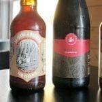 Quares bières du Naufrageur sur le bar du pub de Carleton
