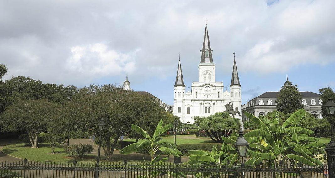 Jackson Square et la cathédrale