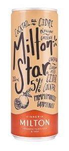 Une canette de Milton Star Pamplemousse