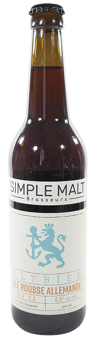 Simple Malt Brasseurs Simple Malt Altbier